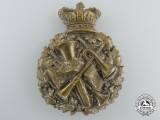 A Victorian Bandsman's Glengarry Badge