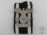 A First Pattern Clasp to the Iron Cross Second Class by Boerger & Co,