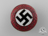 An NSDAP Party Member's Badge by  Karl Wurster