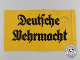 A 13th Infantry Regiment Training Battalion Deutsche Wehrmacht Armband