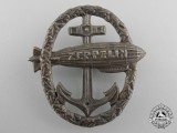 A First War German Naval Zeppelin Badge