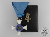 A Prussian Order of the Crown in Gold; Third Class with Case