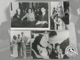Four Press Photographs of Propagandist Film Director Leni Riefenstahl