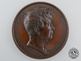 A French Claude Joseph Rouget de Lisle Commemorative Table Medal 1833