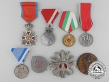 Eight European Medals, Decorations, and Awards