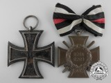 A First War German Medal Pair