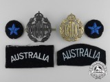 A Selection of Second War Royal Australian Air Force Badges & Insignia