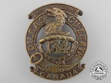 "A First War 134th Infantry Battalion ""4th Highlanders"" Glengarry Badge"