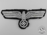 An Army Officer's Breast Eagle; Uniform Removed