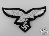 A Luftwaffe Cap Eagle for EM/NCO's in Hermann Göring Tank Division