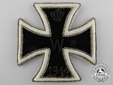 A Rare Iron Cross First Class 1914; Cloth Version