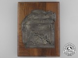 A German Issued Nationalist Spain Memorial Plaque 1936-1938