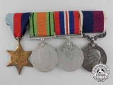 A Second War Royal Air Force Group of Four to Sergeant P.N.C. Browne, RAF