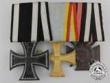 A First War Mecklenburg-Schwerin Medal Bar