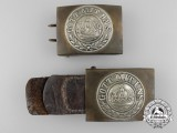 Two First War Period Prussian Army Belt Buckles