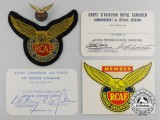 Five Royal Canadian Air Force (RCAF) Ground Observer Corps Items