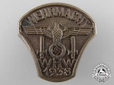 A 1938 Commemorating the Day of the Wehrmacht Badge
