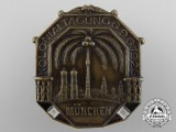 A 1925 German Colonial Conference at Munich badge
