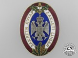 A Kingdom of Yugoslavia Badge of the Sworn Game Warden