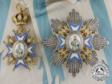 A Serbian Order of St. Sava; Grand Cross by Huguenin Freres