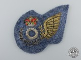 A Early Royal Canadian Air Force (RCAF) Observer (O) Sleeve Wing