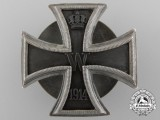 A High Quality Iron Cross First Class 1914; Silver Screwback