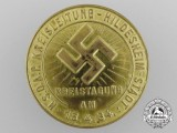 A 1934 Hildesheim NSDAP District Conference Day Badge