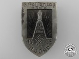 A 1935 NSDAP 5th Hessen Day in Kassel Badge