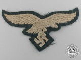 A Very Scarce Breast Eagle for Green Fallschirmjäger Jump Smock