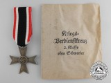 A War Merit Cross Second Class with Original Packet of Issue