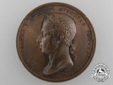 An Austrian 1841 Unveiling of the Statue of Francis I Medal