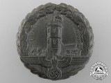 A 1937 NSDAP Fulda 4th District Conference Badge
