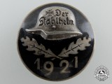 1921 Stahlhelm Membership Badge