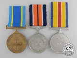 A Lot of Three South African Medals and Awards