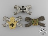 A Lot of Three Post-First War German Veteran's Association Badges