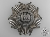 A French Legion D'Honnuer; Grand Cross Breast Star; 2nd Empire (1852-1870)
