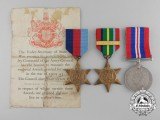 A Second War Group to Signalman Charles Marshall who Died while a Prisoner of War of the Japanese 1944