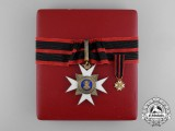 An Order of St. Sylvester; Commander with Case c.1930 by A.Alberti