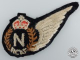 A Second War Royal Canadian Air Force (RCAF) Navigator (N) Wing