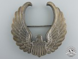 An American Second War  Civilian Pilot Training Flight Instructor's Cap Badge