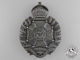 A 1918 Rifle Brigade Belt Plate in Sterling Silver