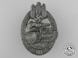 An Army Tank Badge Bronze Grade