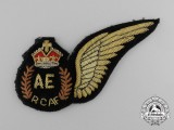 A 1944 Royal Canadian Air Force (RCAF) Aero Engineer (AE) Wing