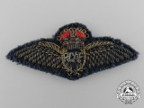 A Scarce 1926 Royal Canadian Air Force (RCAF) Pilot Miniature Mess Dress Wings