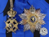 A Belgian Order of Leopold II; Grand Cross Set by P. DeGreef