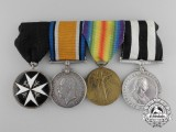 A Canadian First War & Order of St.John Medal Grouping