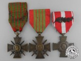 A Lot of Three French Medals & Awards
