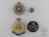 Four First War Period Sweetheart Badges