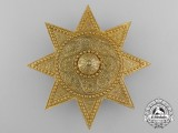 An Order of the Star of Ethiopia, Grand Officer's Breast Star