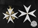 An Order of St. John; Grand Cross Set